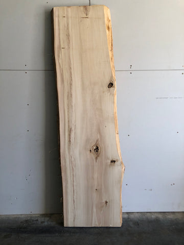 Cottonwood Live Edge Surfaced Slab