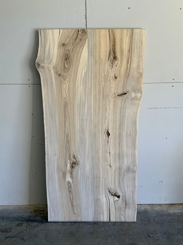 Hackberry Table Top Live Edge Slab