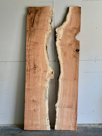 Honey Locust River Table Live Edge Slab