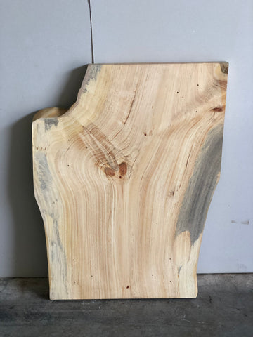 Surfaced Yellow Pine Live Edge Slab Kansas City