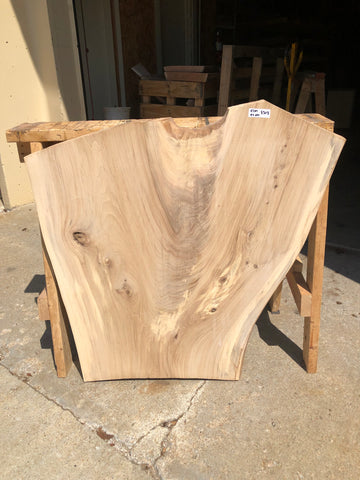Surfaced Live Edge Elm Slab Kansas City