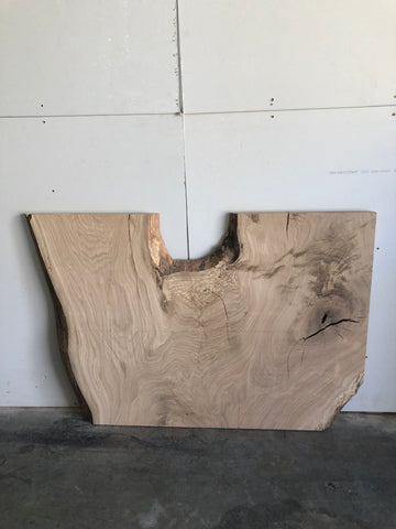 White Oak Live Edge Surfaced Slab Kansas City