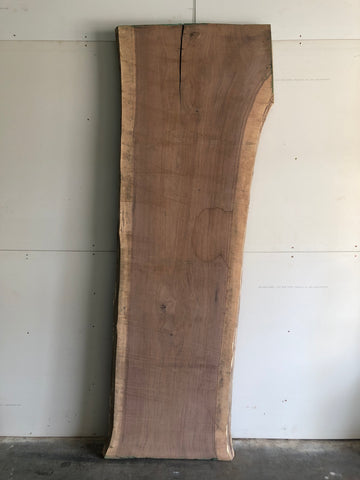 Black Walnut Live Edge Raw Slab Kansas City