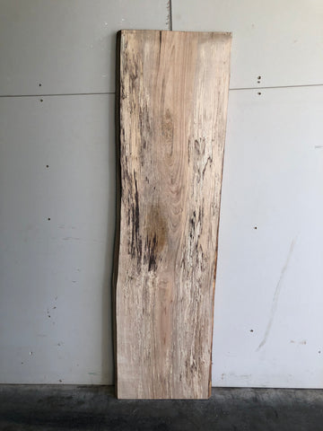 Live Edge Spalted Maple Surfaced Slab Kansas City