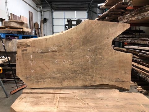 Live Edge Maple Slab Kansas City