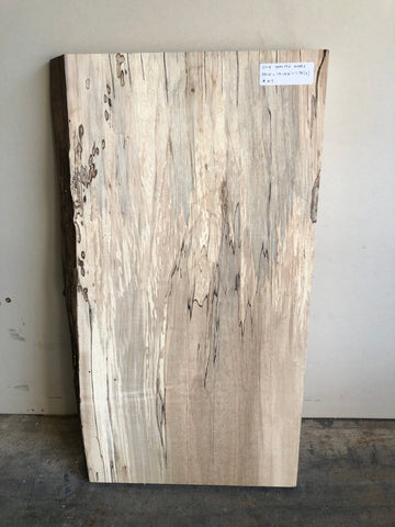 Live Edge Spalted Maple Surfaced Hobby Slab Kansas City
