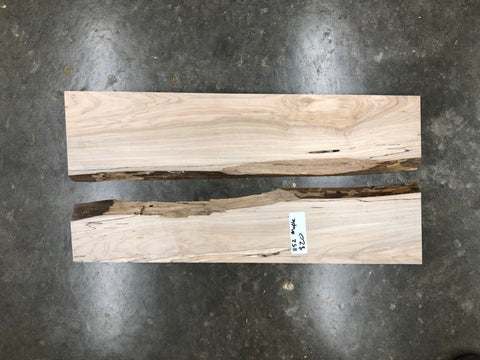 "Spalted Maple (1152)  22"" L x 10"" W x 1"" T"