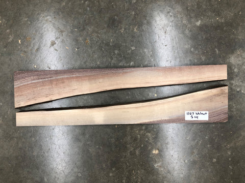 "Black Walnut (1167) 24"" L x 6.5"" W x .75"" T"