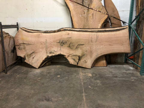 KC Slab Co | Live Edge Red Oak Slab