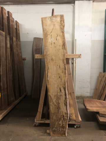 KC Slab Co | Live Edge Spalted Maple Slab