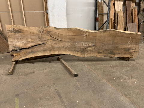 KC Slab Co | Live Edge Maple Slab