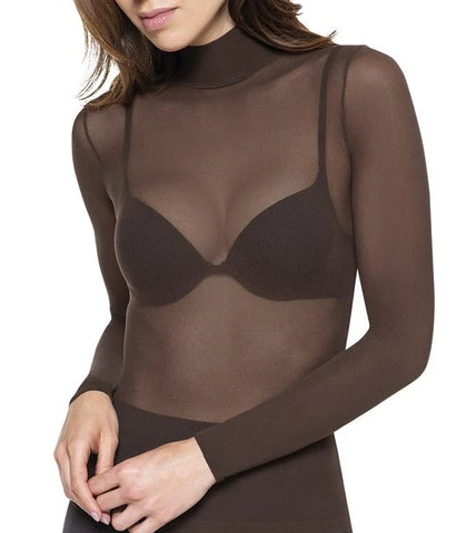 see through top sheer appearance