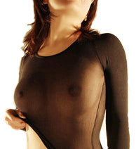 transparent nylon shirt