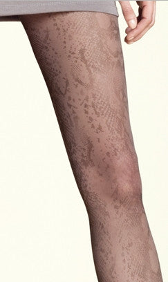 Pantyhose Animal Print Snake Skin