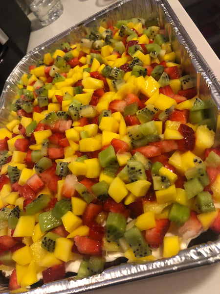 Cali Sunrise Freaky Fruit Pizza