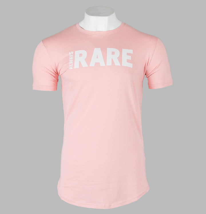 Always Rare Brand Carrier T-Shirt Pink