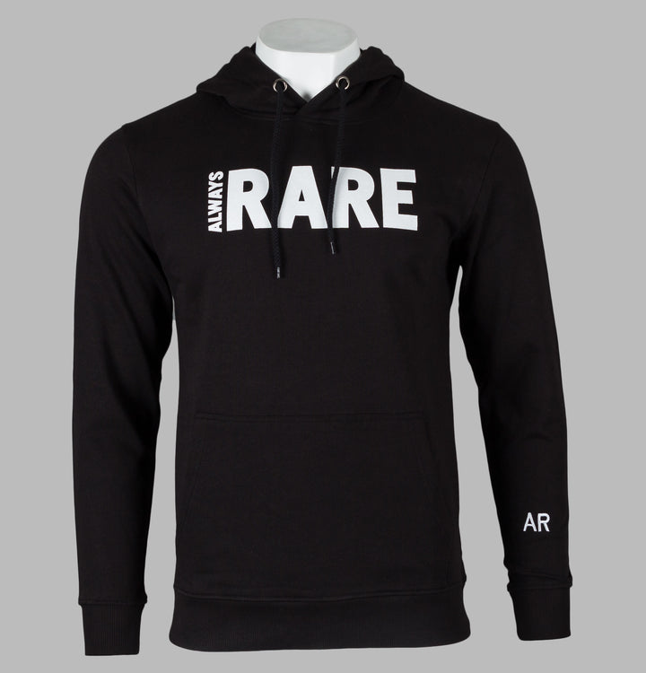 Always Rare Brand Carrier Hoodie Black