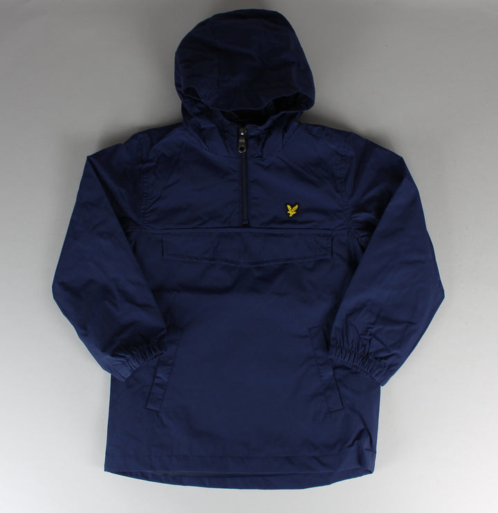 Over The Head Windbreaker Jacket - Deep Indigo