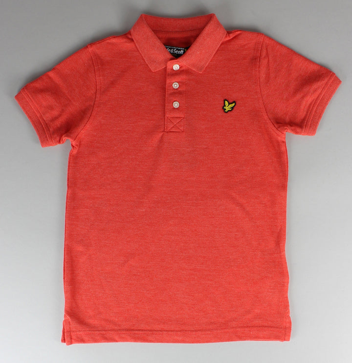 Classic Marl Polo Shirt - Orange Marl