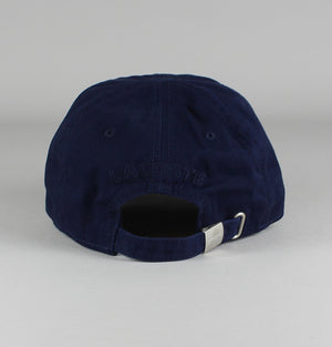 Lacoste Cotton Cap Navy