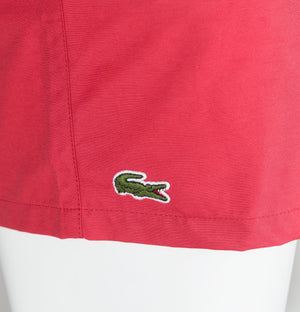 Lacoste Swim Shorts Red