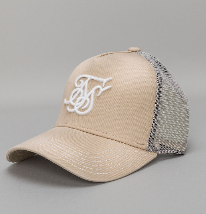 X Starter Oil Wash Trucker - Stone
