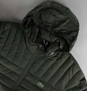 Lacoste Lightweight Quilted Jacket Green