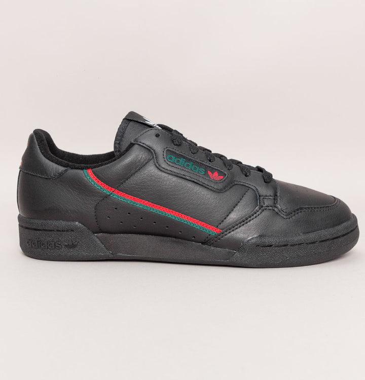 Adidas Continental 80 Trainers Black/Scarlet