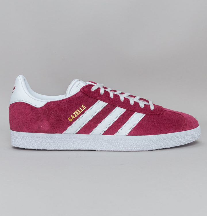 Adidas Gazelle Trainers Collegiate Burgundy