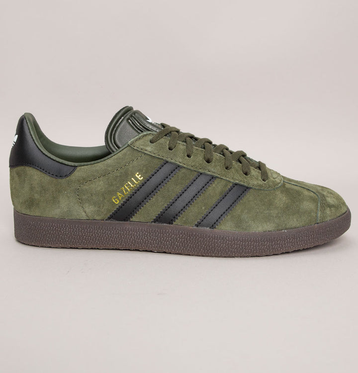 Adidas Gazelle Trainers Night Cargo/Black