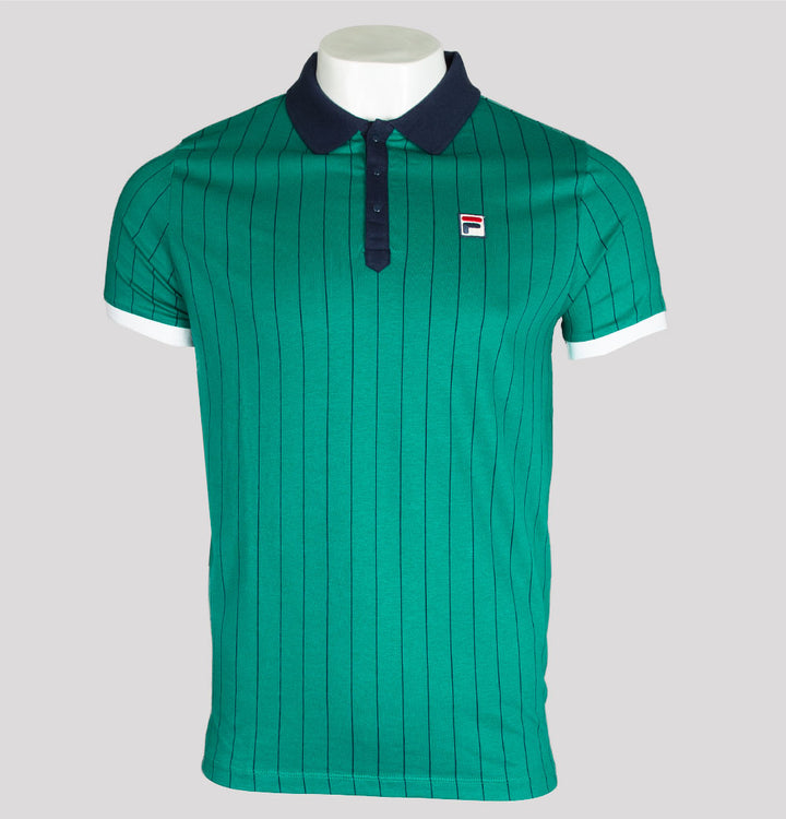 BB1 Borg Striped Polo Shirt