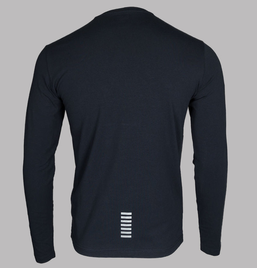 EA7 Core Long Sleeve T-Shirt Night Blue
