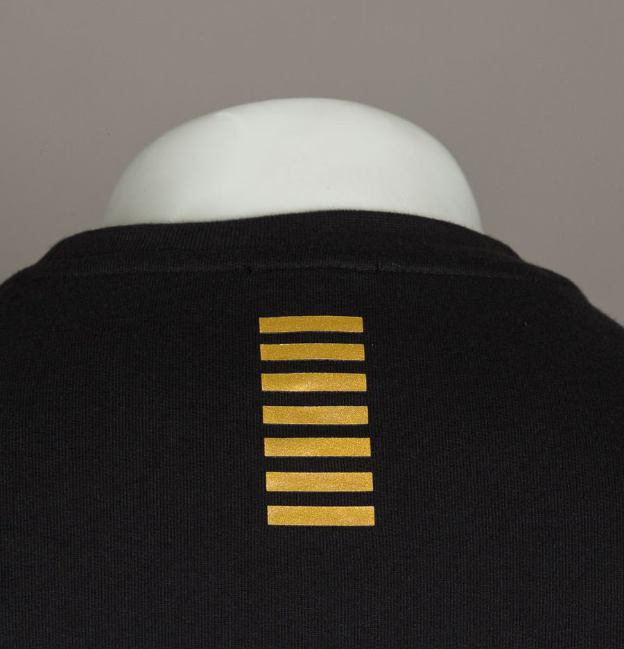 EA7 Crew Neck Core Sweatshirt Black/Gold
