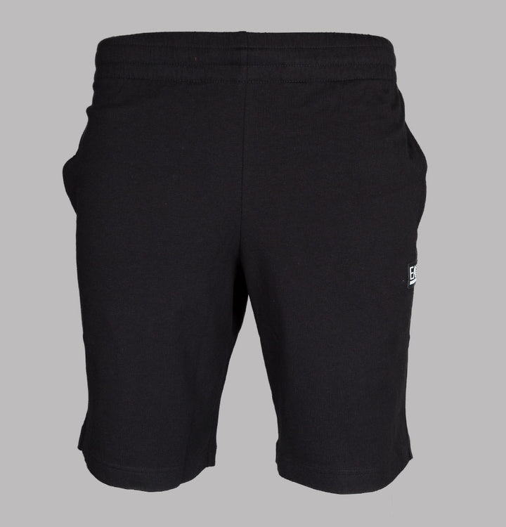Rubber Box Logo Jogger Shorts