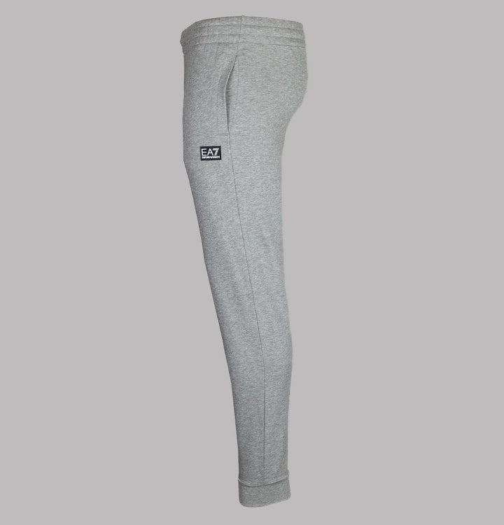 EA7 Rubber Box Logo Joggers Grey