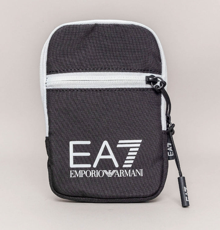 EA7 Mini Train Core Pouch Bag Black/White