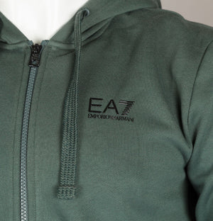 EA7 Repeat Logo Taping Hooded Sweatshirt Urban Chic