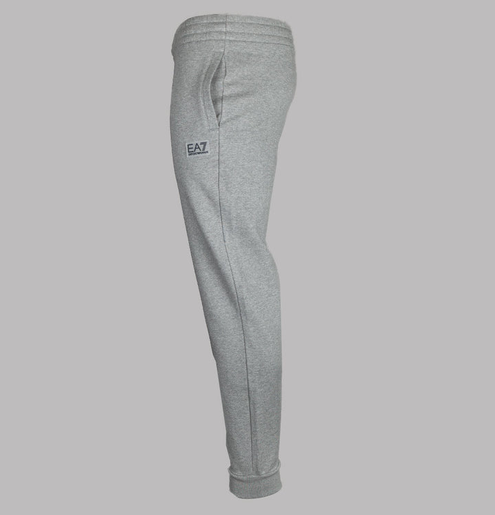EA7 Rubber Logo Joggers Medium Grey