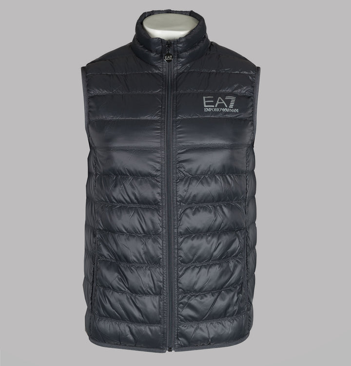 EA7 Quilted Down Gilet Anthracite
