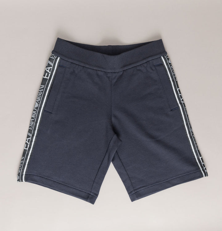 Logo Taping Cotton Shorts