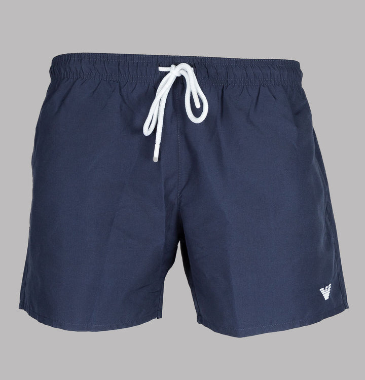 Embroidered Logo Swim Shorts