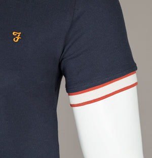 Farah Birmingham T-Shirt True Navy