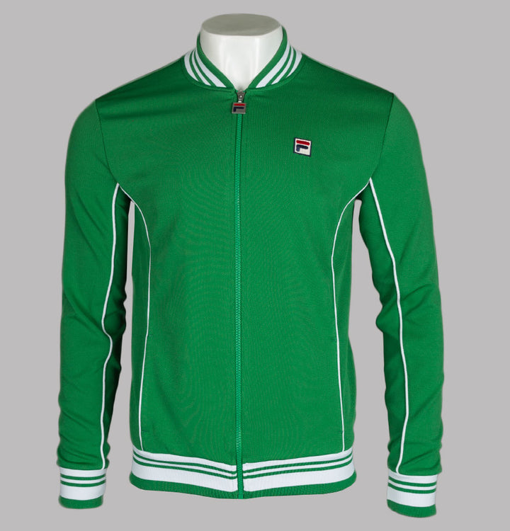 Fila Vintage Baranci Tracksuit Top Amazon Green