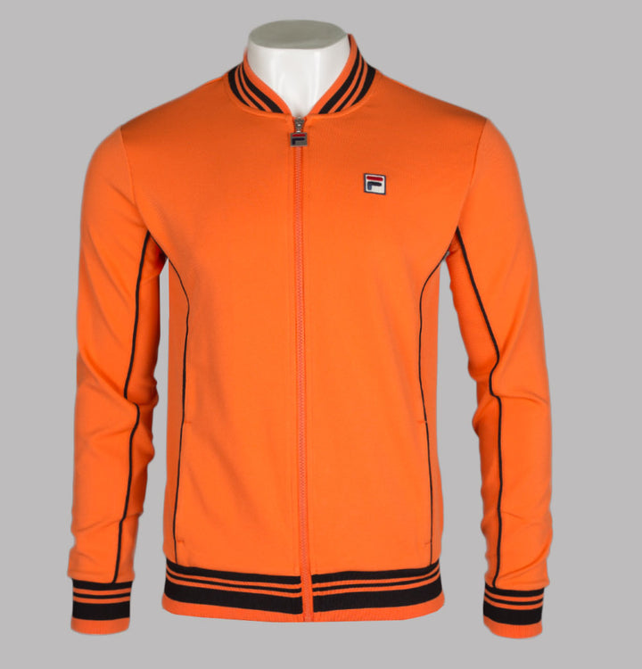 Fila Vintage Baranci Tracksuit Top Orange