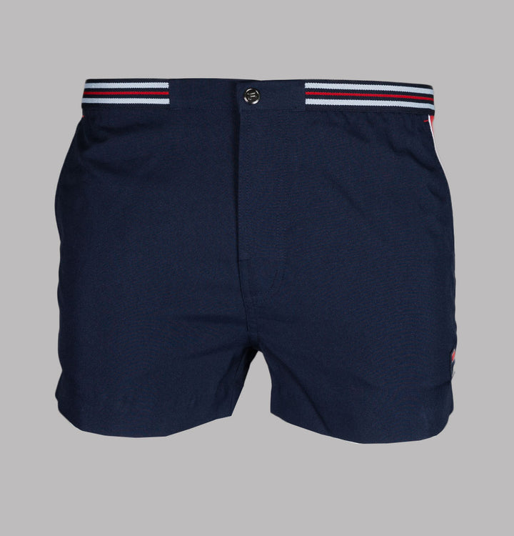 Fila Vintage Hightide 4 Shorts Navy/Red