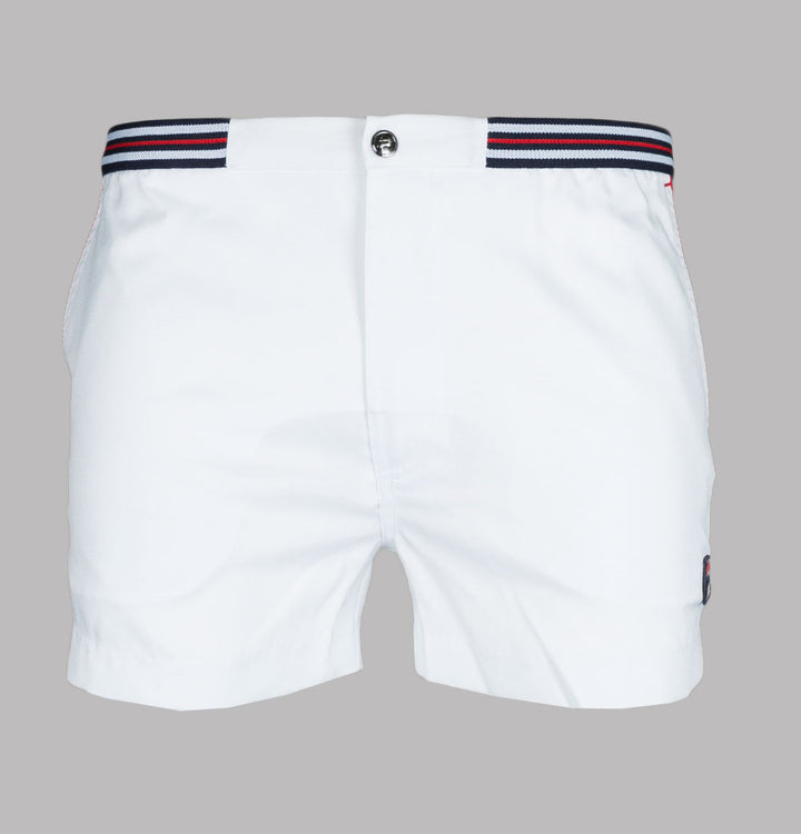 Fila Vintage Hightide 4 Shorts White/Navy