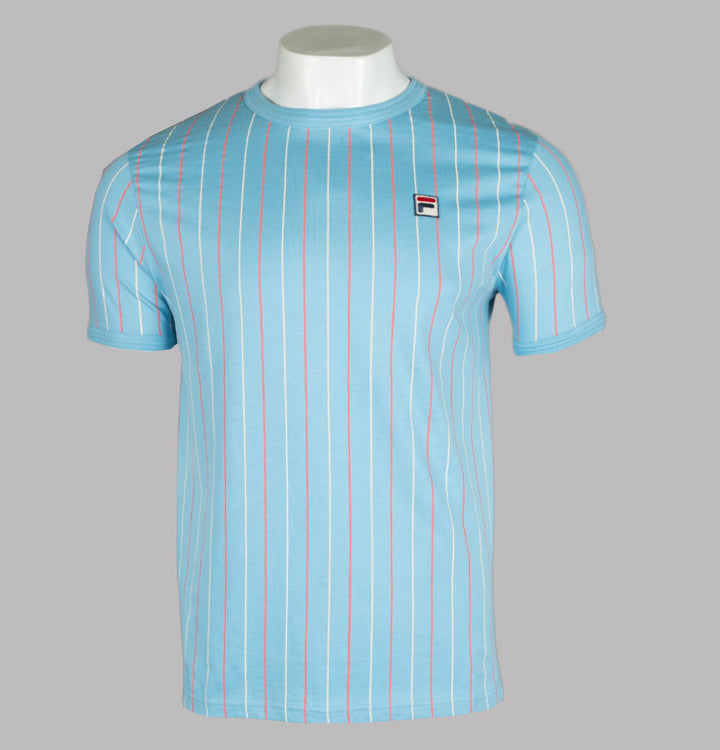 Fila Vintage Mica Stripe T-Shirt Air Blue/Multi