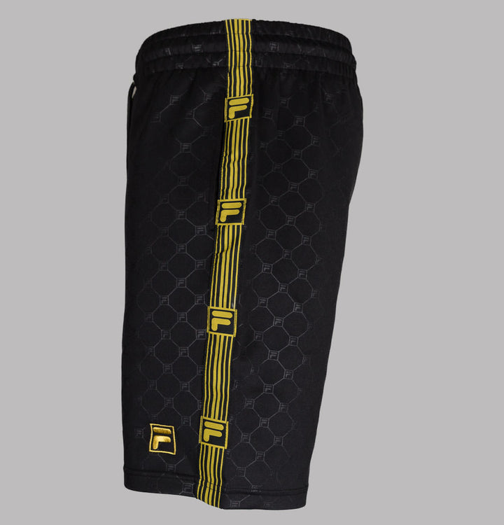 Fila Vintage Parth Woven Taping Shorts Black
