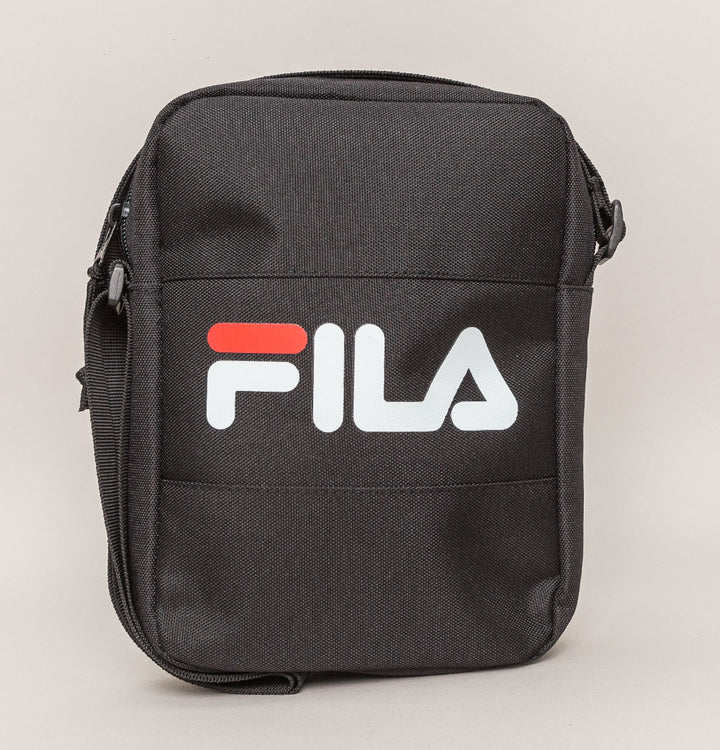 Fila Vintage Rizzo Small Cross Body Bag Black