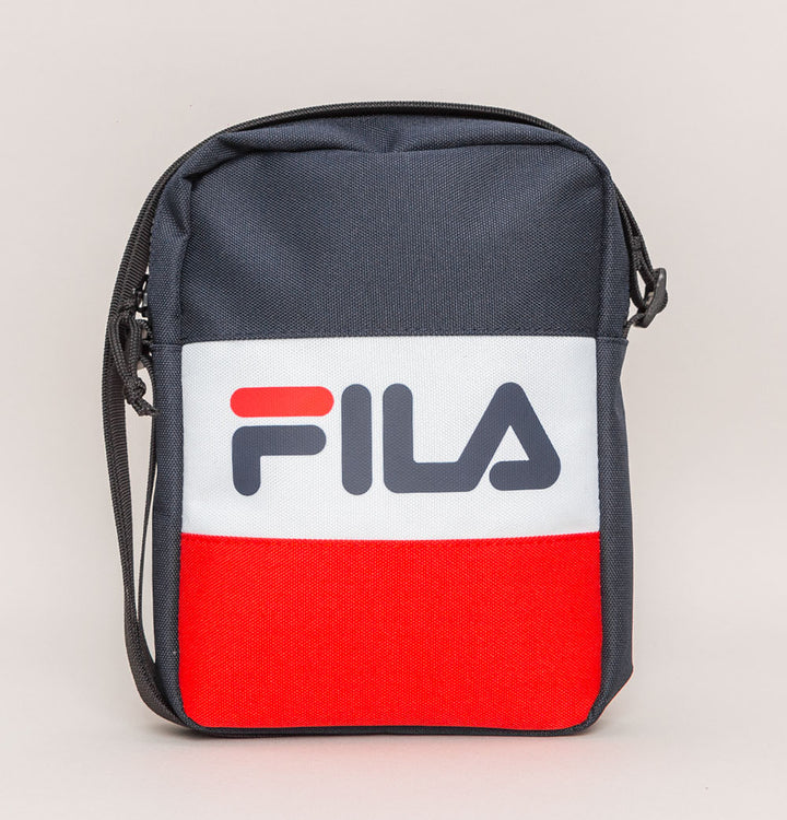 Fila Vintage Rizzo Small Cross Body Bag Navy